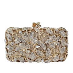 Attractive Crystal/ Rhinestone/Alloy Clutches/Minaudiere