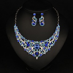 Fashional Alloy Crystal With Rhinestone Ladies' Jewelry Sets (Set of 3)