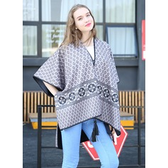 Polyester Spandex Fashion Shawl