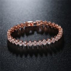 Fashional Brass With Zircon Ladies' Fashion Bracelets