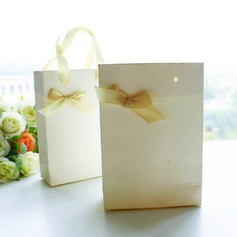 Elegant Handbag Favor Box with Ribbon DIY Bridal Shower Favor