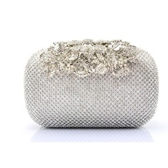 Charming Crystal/ Rhinestone Clutches/Wristlets (012105749)