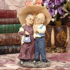 "Figurine ""Sweet Moment"" Resin Anniversary Cake Topper"