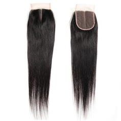 """4""""*4"""" 4A Non remy Straight Human Hair Closure (Sold in a single piece) 40g"""