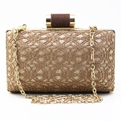 Unique Lace/Sparkling Glitter Clutches/Minaudiere