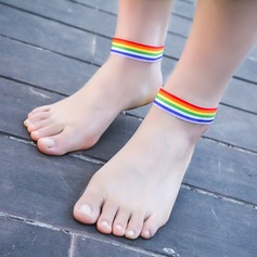 Spandex Foot Jewellery (Sold in a single piece)