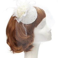 Charming Net Yarn Fascinators