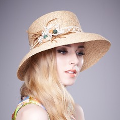 Ladies' Beautiful With Bowknot Straw Hat