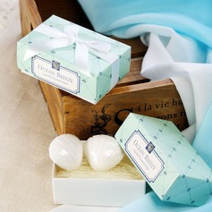 Ocean Breeze Seashell Soaps With Ribbons