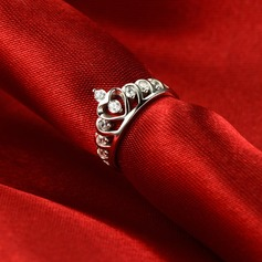 Gorgeous Silver Plated Ladies' Fashion Rings