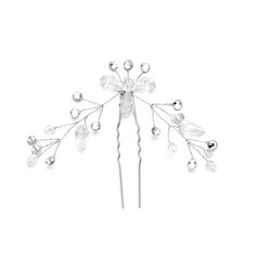 Ladies Gorgeous Crystal/Rhinestone Hairpins With Rhinestone/Crystal (Sold in single piece)