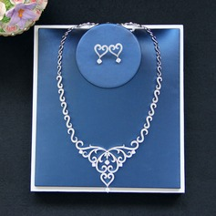 Gorgeous Zircon Ladies' Jewelry Sets