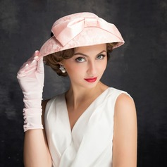 Dames Elegant Kant/Tule/Linnen met strik Fascinators