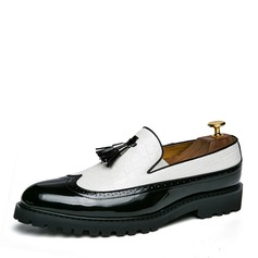 Men's Leatherette Tassel Loafer Casual Dress Shoes Men's Loafers (260209754)
