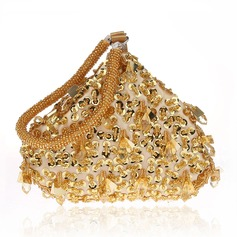 Elegant Satin/Sequin/Beading Clutches/Wristlets/Totes/Bridal Purse/Fashion Handbags/Makeup Bags/Luxury Clutches