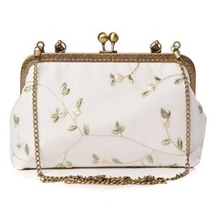 Unique Polyester Clutches/Top Handle
