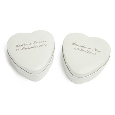 Personalized Heart Shaped Tins Favor Tin  (118061463)
