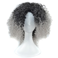Kinky Curly Synthetic Hair Synthetic Wigs 250g