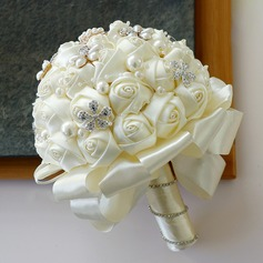 Free-Form Bridal Bouquets -