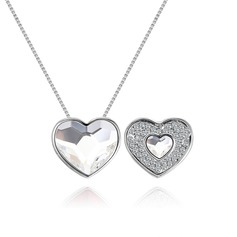 Classic Alloy/Crystal Ladies' Necklaces