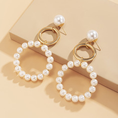 Ladies' Elegant Alloy/Imitation Pearls Earrings For Bride/For Bridesmaid/For Mother