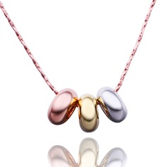 Attractive Alloy/Gold Plated/Silver Plated/Rose Gold Plated Ladies' Necklaces