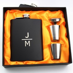 Groomsmen Gifts - Personalized Elegant Stainless Steel Flask (258175080)