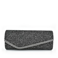 Elegant Lace/Sparkling Glitter Clutches/Bridal Purse
