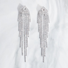 Ladies' Elegant Rhinestones Earrings For Bride/For Bridesmaid/For Mother/For Friends/For Couple (011220120)