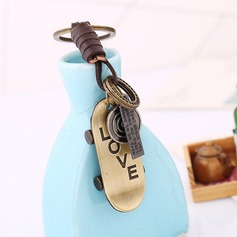 "Lovely Ring/""Sweet Love"" Alloy/Iron Keychains"
