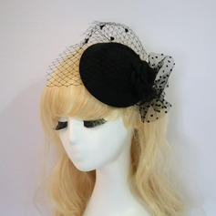 Ladies' Elegant/Charming Net Yarn Fascinators
