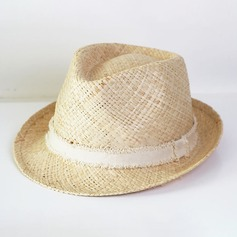Men's Fashion/Elegant/Unique Raffia Straw Fedora Hat