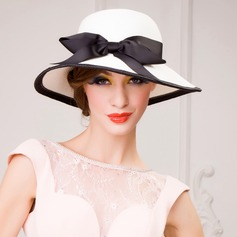 Ladies' Gorgeous Papyrus With Bowknot Straw Hats/Tea Party Hats