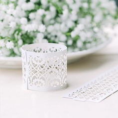 Floral Cut-out Napkin Rings  (122072227)