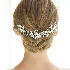 Elegant Rhinestone Hairpins With Rhinestone/Venetian Pearl (Set of 3)