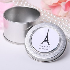 Personalized Eiffel Tower Design Tins Favor Tin