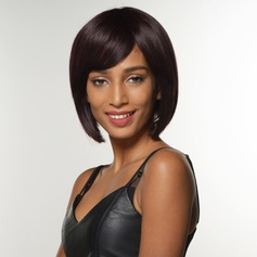 Straight Bob Human Hair Wigs African American Wigs
