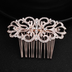 Fashion Alloy Combs & Barrettes (Sold in single piece)