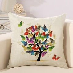 Beautiful Butterfly Tree Of Life Pillow Cover Square   Pillow Case(Sold in a single piece)
