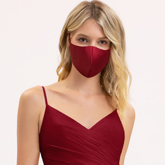 Non-Medical Satin Reusable Face Masks With Adjustable Loop (301252461)