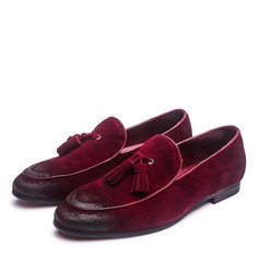 Men's Real Leather Tassel Loafer Casual Men's Loafers