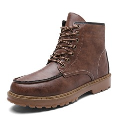 Men's Leatherette Snow Boats Casual Men's Boots