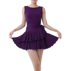 Dancewear Polyester Latin Dance Dresses