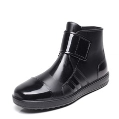 Men's PVC Rain Boats Casual Men's Boots (261172542)