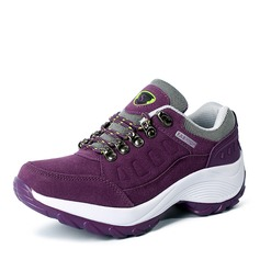Women's Suede With Lace-up Sneakers & Athletic