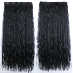 Water Wave Synthetic Hair Clip in Hair Extensions (Sold in a single piece) 100g
