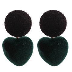 Nice Alloy Cloth Women's Fashion Earrings (Set of 2)