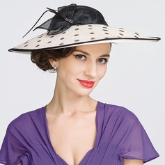 Ladies' Charming Spring/Summer Cambric With Bowler/Cloche Hat