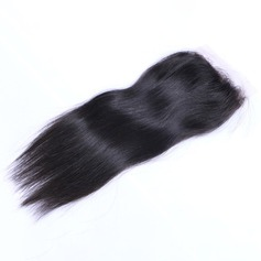 5A Virgin/remy Straight Human Hair Closure (Sold in a single piece) 40g