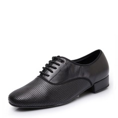 Men's Leatherette Latin Modern Practice Dance Shoes